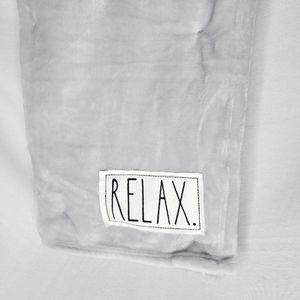 NEW Rae Dunn RELAX Blanket